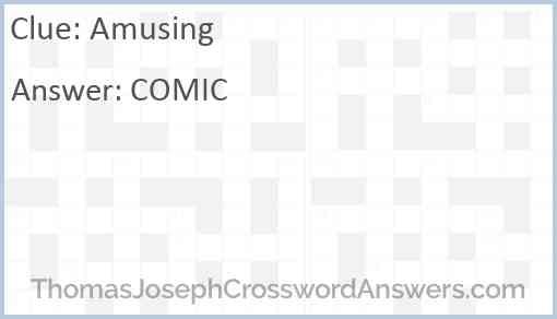 Amusing Answer