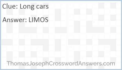 Long cars Answer