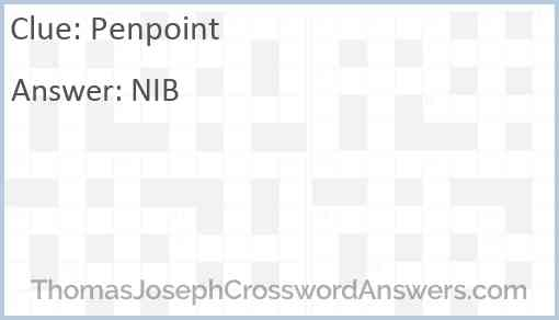 Penpoint Answer