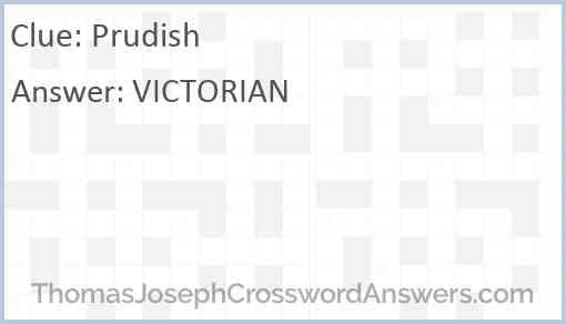 Prudish Answer